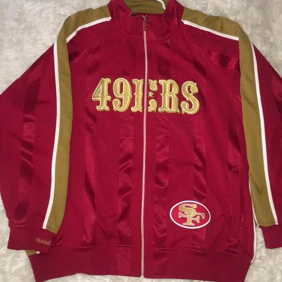 buy popular 66252 f903f Mitchell & Ness San Francisco 49ers Jacket